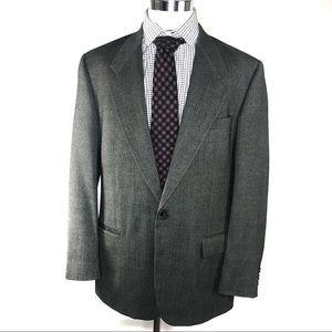 Givenchy monsieur Mens 44R Gray blazer